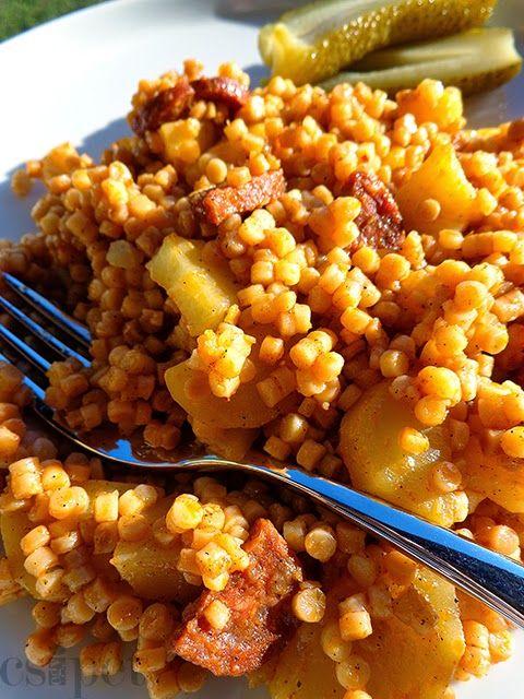 A legegyszerűbb egytálételek egyike, ráadásul olcsó, finom és kiadós. Most vacsorára készült - eredetileg krumplis tésztát terveztem, de ne...