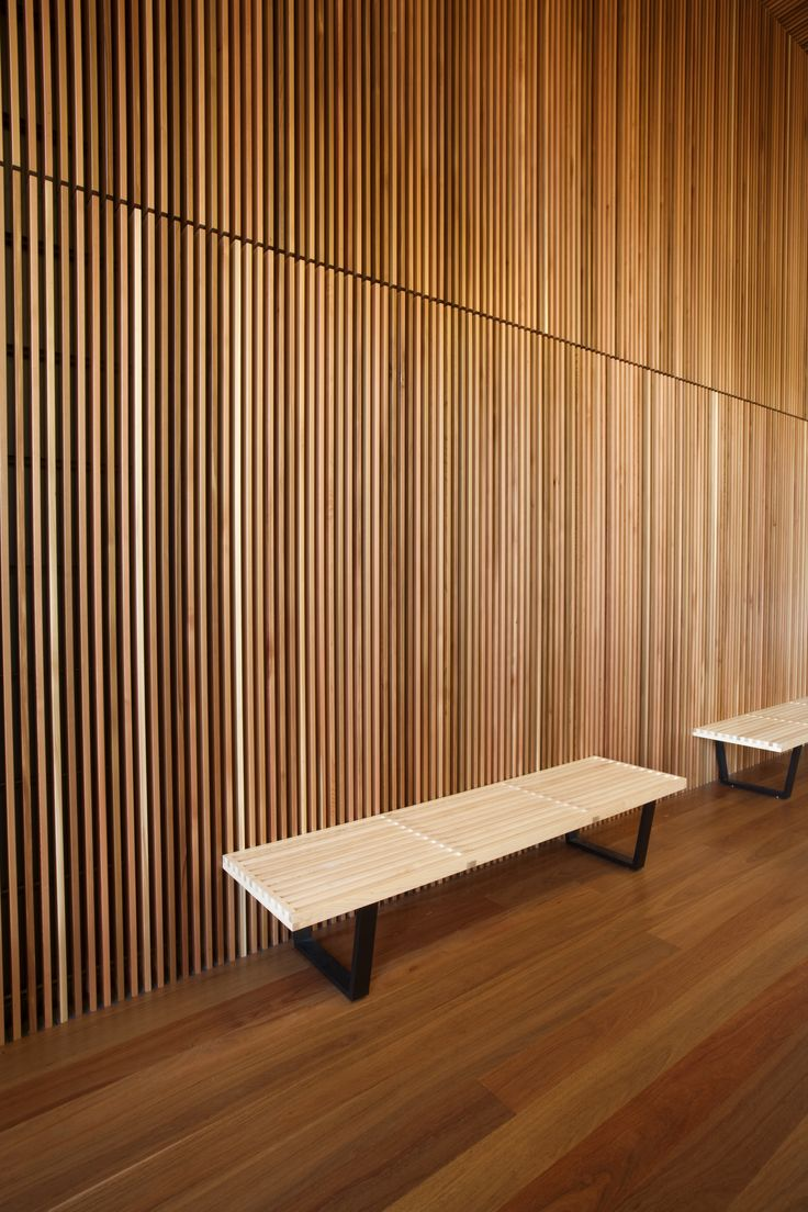 Fine Vertical Interior Timber Cladding Interiors