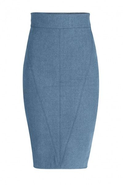 LEONIE SKIRT - Pencils skirt has been boosting the confidence of women everywhere for decades. No matter your body type, rocking this denim pencil skirt can flatter your figure and make the most out of your favorite accessories. It is a must-have piece for the modern classic woman!
