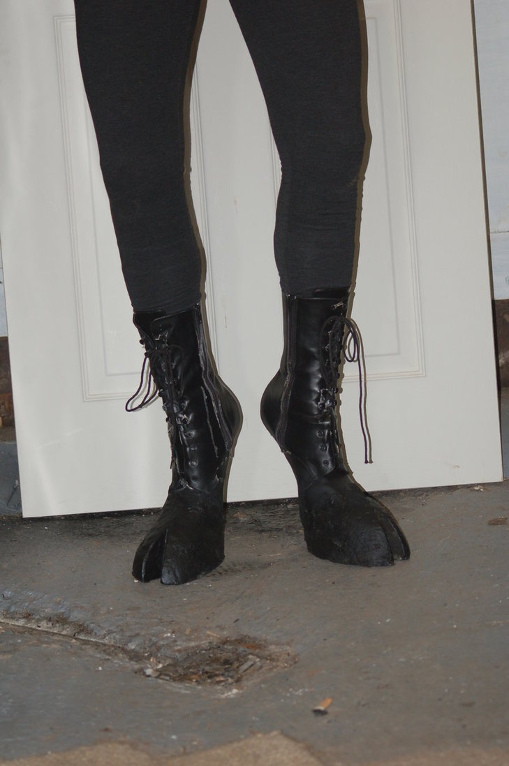 how to make horse legs for costume