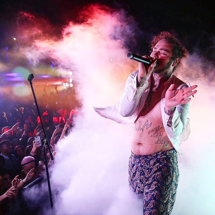 """5,163 Likes, 51 Comments - Post Malone (@postybae) on Instagram: """"posty performing at the pegasus world cup after party #postmalone"""""""