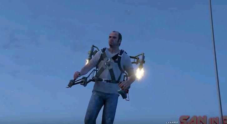 Jetpack Mod V2 | GTA 5 Mods