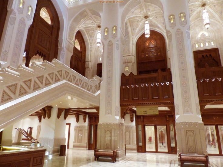 Das Opernhaus in Muscat ist auch außerhalb von Veranstaltungen einen Besuch wert.
