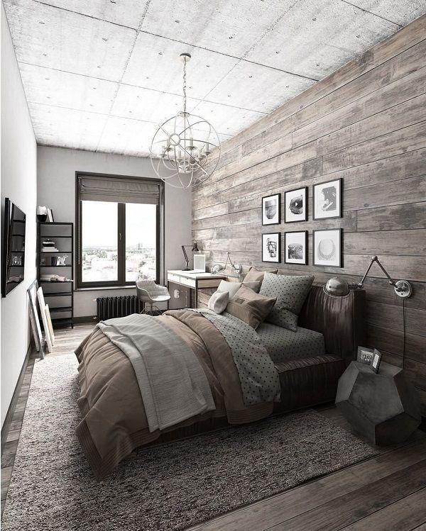 50 Rustic Interior Design Ideas Cuded Mens Bedroom Decor Masculine Bedroom Decor Rustic Master Bedroom