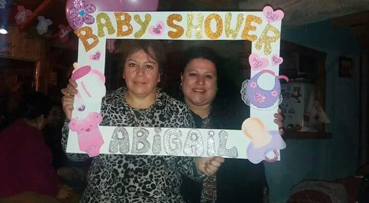 Cuadro fotos baby shower