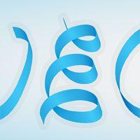 silky ribbon text effect for adobe illustrator cs4