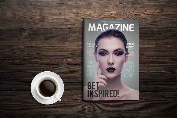 Indesign Magazine Template by BoriesBechker on @creativemarket