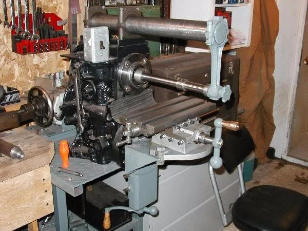 benchtop horizontal milling machine