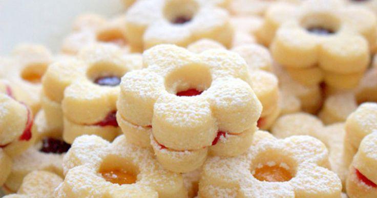 Snadné vanilkové cukroví   Čarujeme