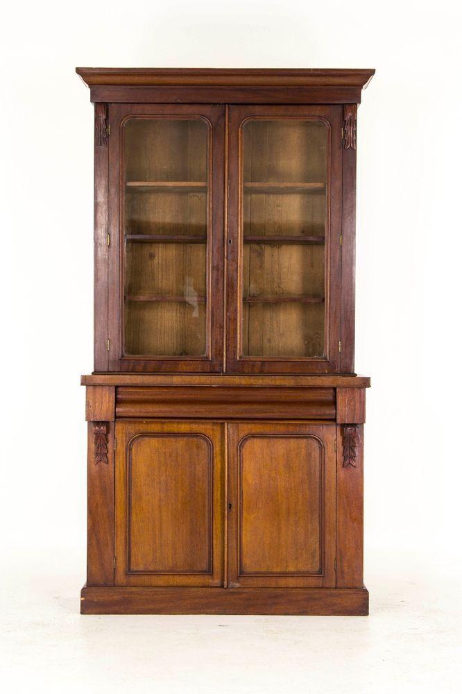Antique Bookcase| Mahogany Bookcase | Victorian Bookcase | B720 #Victorian