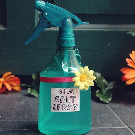 DIY: Sea Salt Hair Spray