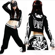 JAZZ street dance clothes HIPHOP dance the skeletons costumes both men and women