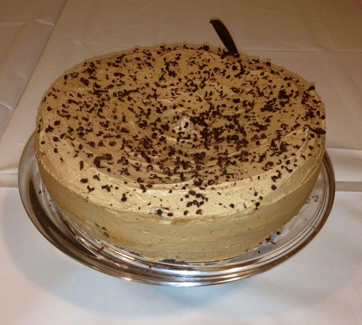 Deilig #sjokoladekake, Tropisk Aroma  Kan anbefales! Jeg bakte dobbel oppskrift Ifbm en dåp men det rekker med enkel til vanlig kaffebesøk Her finner du oppskriften: http://detlillehuset.blogspot.no/2010/03/gluten-og-laktosefri-tropisk-aroma.html?m=1