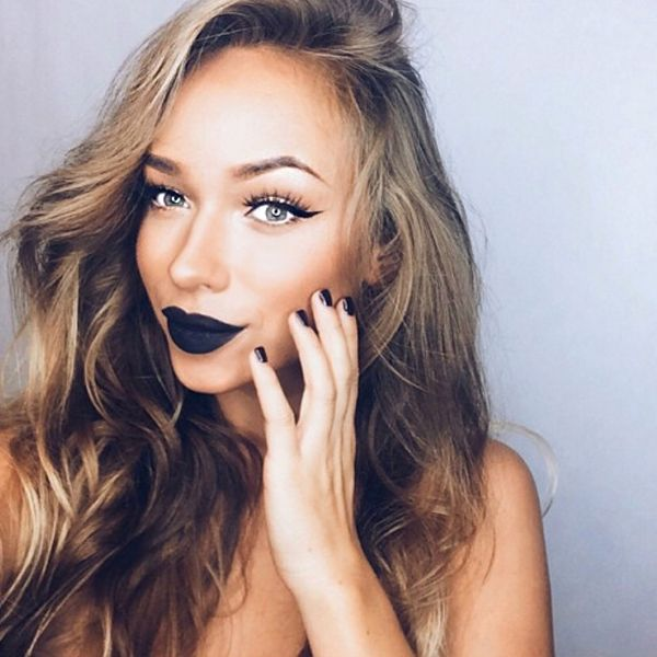 How to Pull Off Black Lipstick — Without Looking Goth