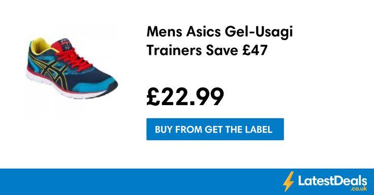 Mens Asics Gel-Usagi Trainers Save £47, £22.99 at Get The Label