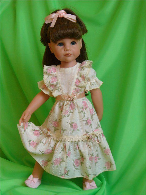 Нарядные платья для кукол своими руками фото