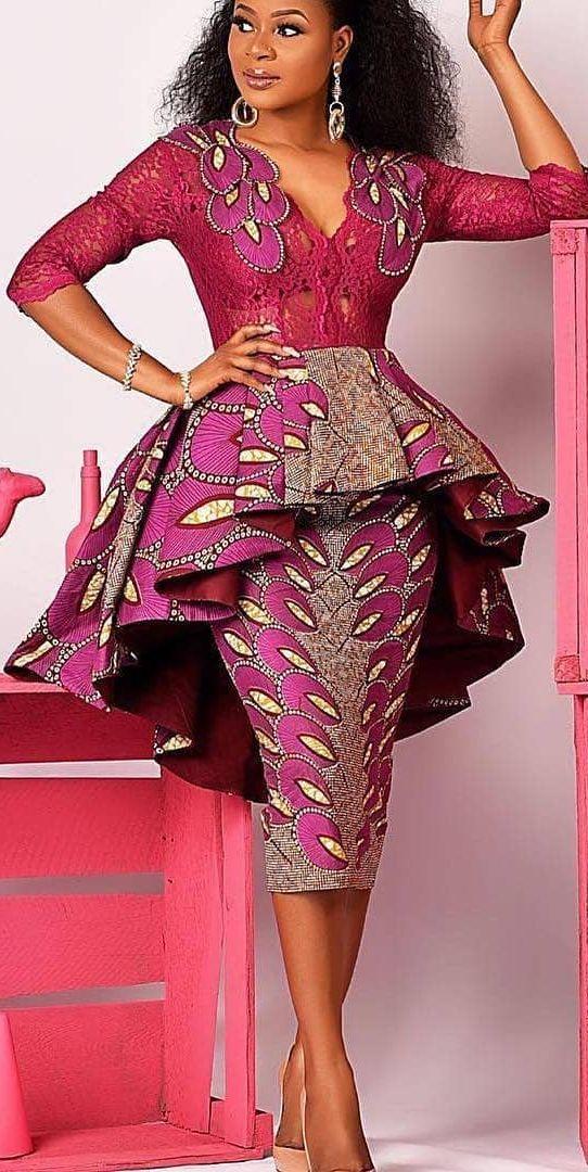 631af1419d118 20 exemples de couture africaine chic de nos jours | wax-mariage en ...