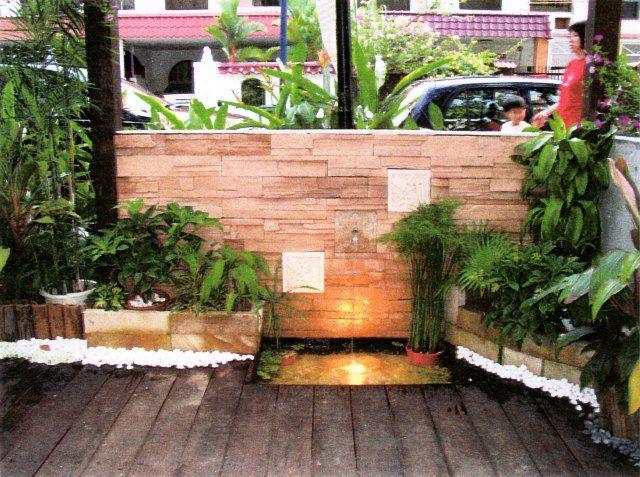 Small Secrets Garden Water Feature Gardening Pinterest