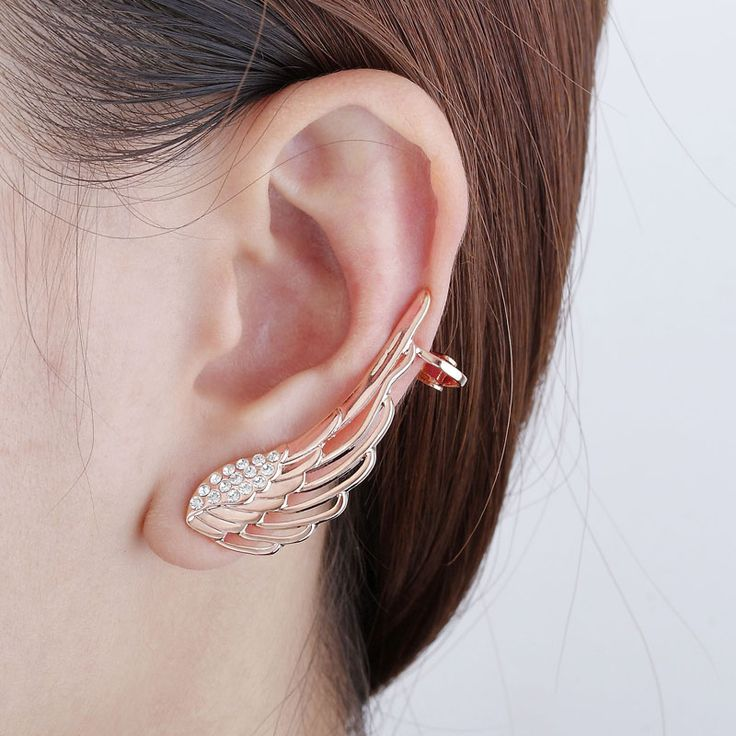 ears the wrap clip products earrings sexy women sparkles for girls stud on ear and cuffs