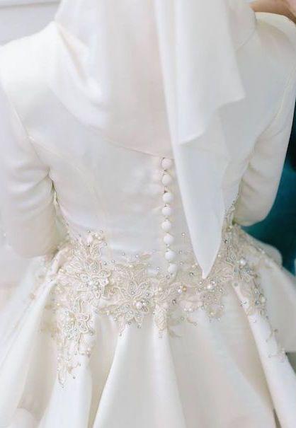 10 Idea Stail Baju Nikah 2017 – Ringkas Tetapi Menawan!