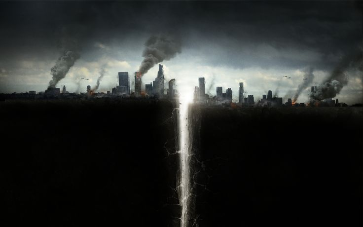 San Andreas Fault Burning Skyscrapers   San Andreas Fault Burning Skyscrapers is an HD desktop wallpaper posted in our free image collection of awesome wallpapers. You can download San Andre...