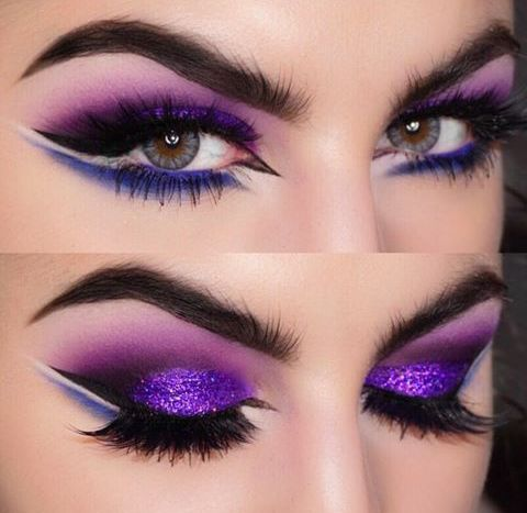 267 best images about purple eyeshadow on Pinterest | Purple ...