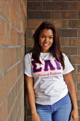 SLG Women of Distinction Shirt l Sigma Lambda Gamma
