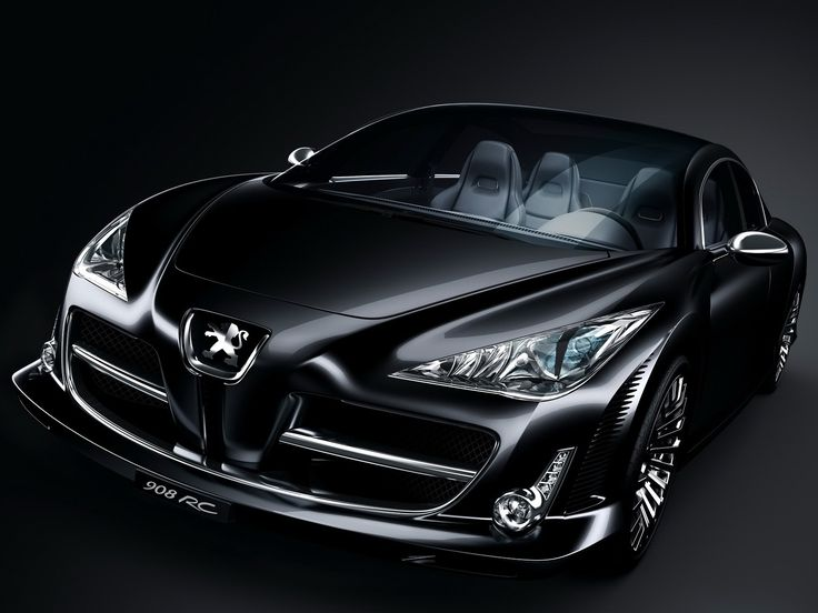 Car Shinny Wallpapers For Deskop Abstract Peugeot Black