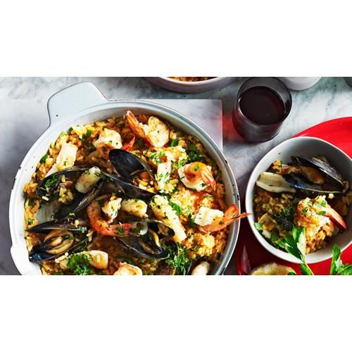 Seafood risotto recipe - By Australian Women's Weekly, Packed with tender…