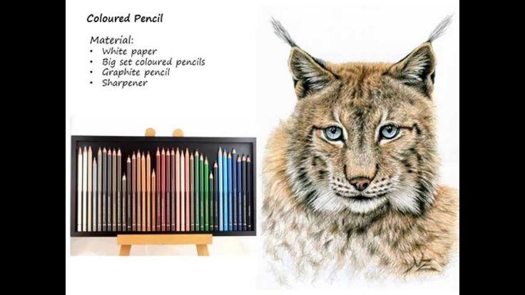 How to draw fur - Tutorial by Nicole Zeug