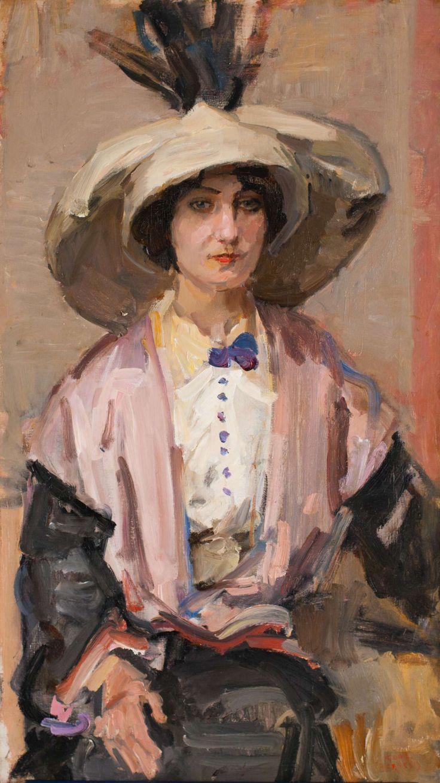 Portret van Mademoiselle Maxa, Parijs I.L. (Isaac) Israels (Amsterdam 1865-1934 Den Haag)
