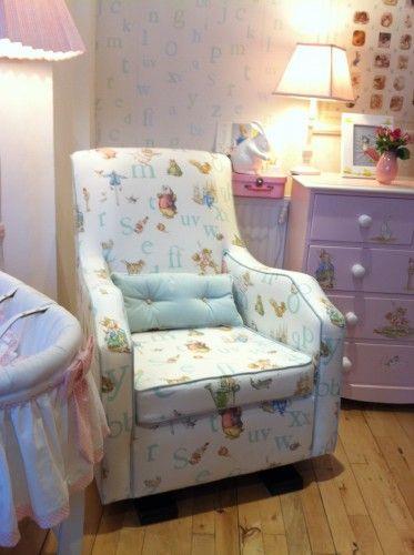 So Pretty Jane Churchill On Olli Ella Glider Chair