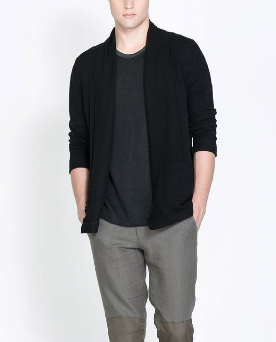 Image 1 of OPEN CARDIGAN from Zara - I like this product shot