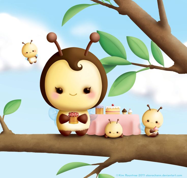Sweet Bees by Oborochann.deviantart.com on @DeviantArt