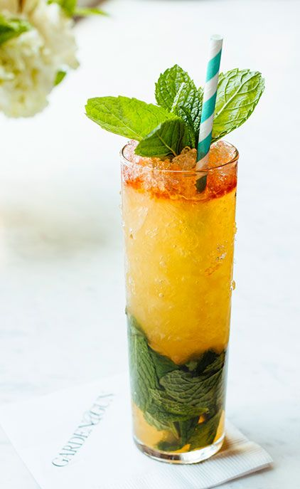 Queen's Park Swizzle: Dark Rum, Lime, Mint, Cane Syrup and Bitters ...