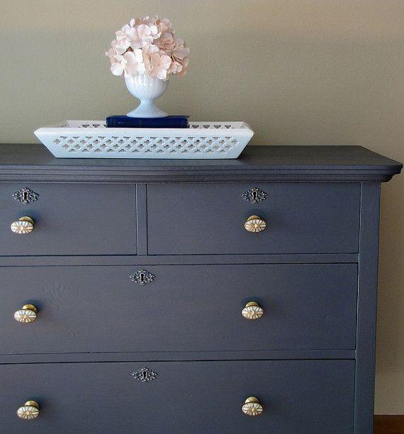 Dark Grey Painted Dresser Painted Pinterest Dresser Painted
