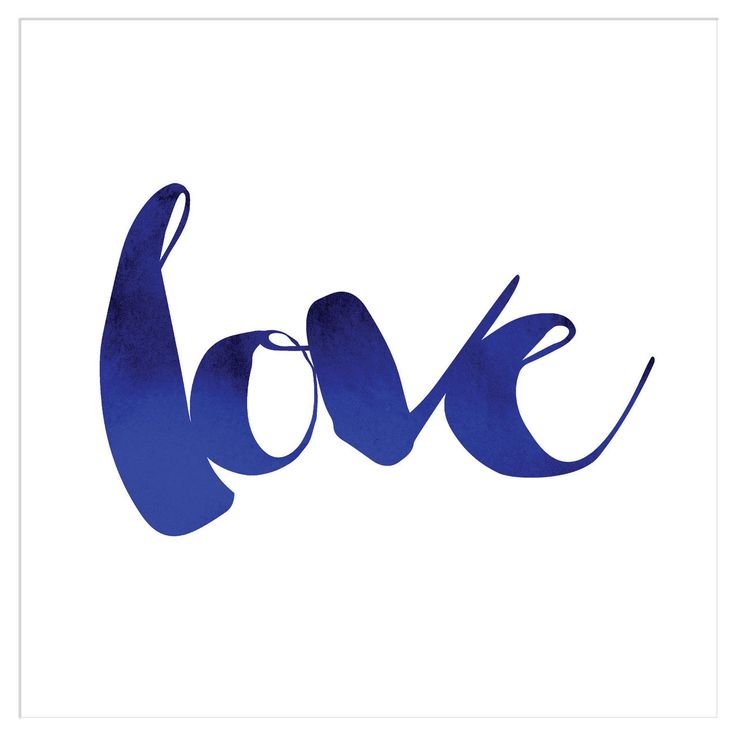 Deluxe Living - 'Love - Midnight Blue' Typography Ready to Frame Print, $24.95 (http://www.deluxeliving.com.au/love-midnight-blue-typography-ready-to-frame-print/)