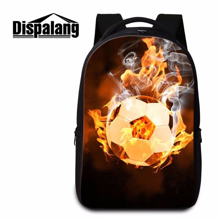 Dispalang men large capacity laptop backpack shoulders bag for 14 inch laptopbags ball pattern school bags for college students #Affiliate