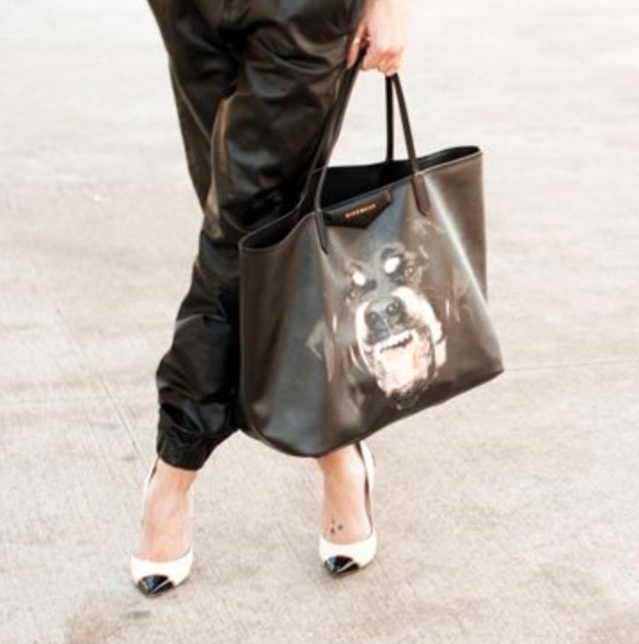 Add some bite to your look with the Rottweiler tote available at #montaignemarket