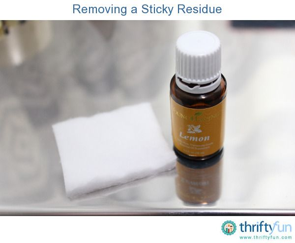 Lemon essential oil removes sticky residues quickly and easily  Put 4 drops  of the lemon. 25  unique Remove sticky residue ideas on Pinterest   Coconut oil