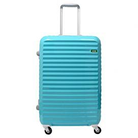 Alicia Rolling Suitcase in Minty Blue