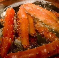 How to cook King Crab Legs (Reminder: Boiling is Not recommended; So steam or baked it is!)