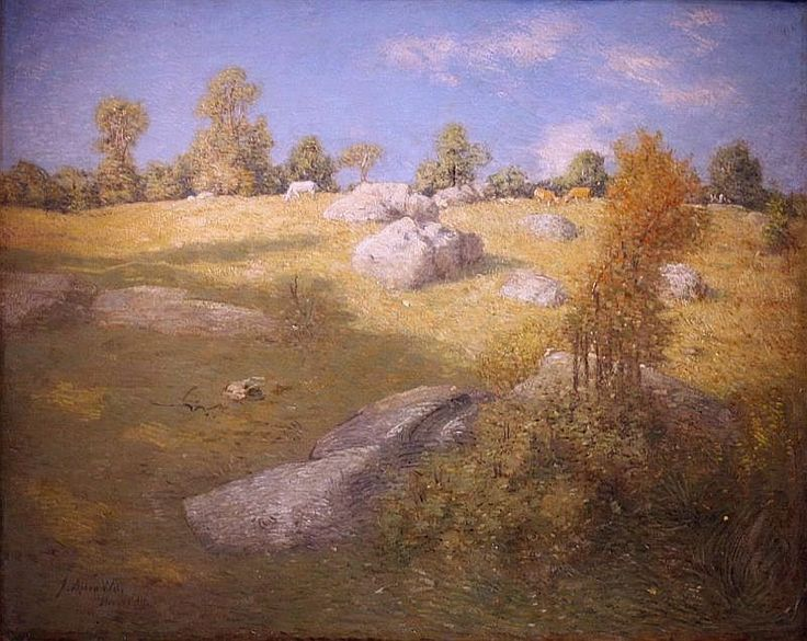 The landscapes of his ct farm provided exactly what julian for Landscape rock upland ca