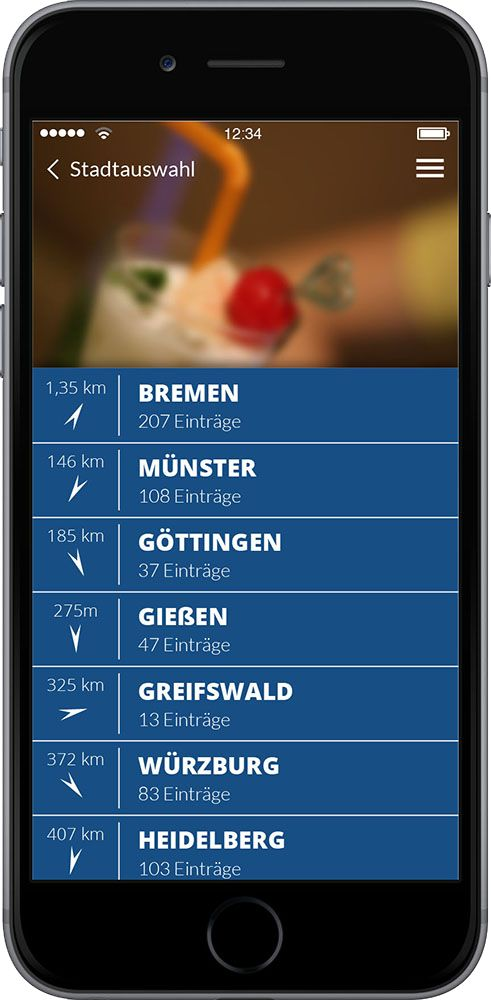 Hourly Happy Hour App