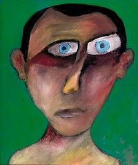 self portrait) 1947by Sidney Nolan