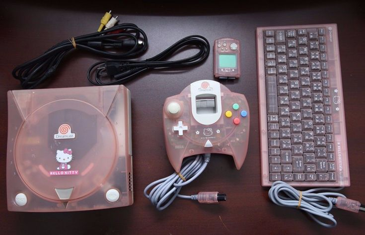 There was a translucent pink Hello Kitty Dreamcast and it can still be yours