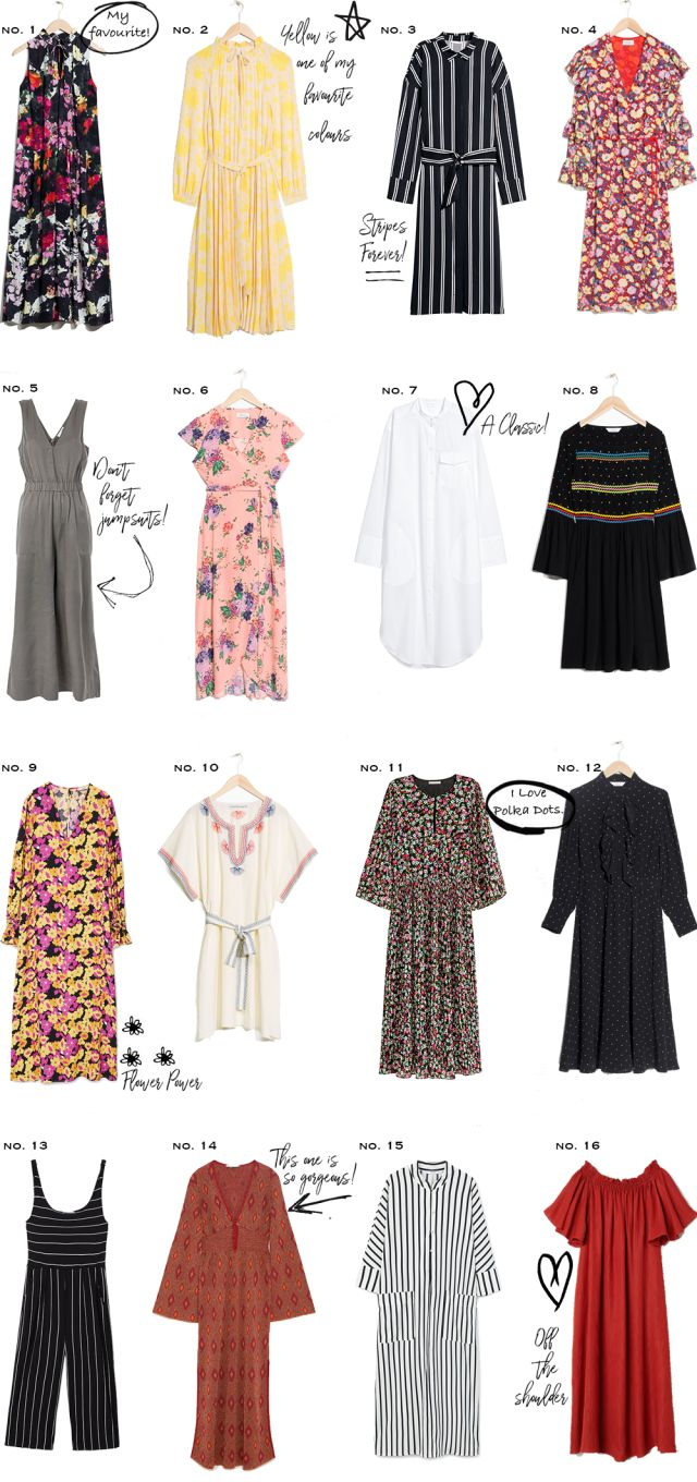 16 dresses for spring that you may want in your wardrobe