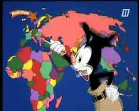 Animaniacs: Alle Landen van de Wereld - YouTube
