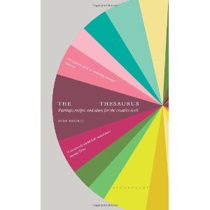 The Flavour Thesaurus by Niki Segnit. Ever wondered why one flavour works with another? Or lacked inspiration for what to do with a bundle of beetroot? The Flavour Thesaurus is the first book to examine what goes with what, pair by pair.