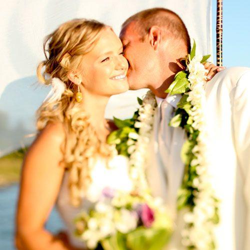 A #Handmade Tropical Paradise (in Idaho!) on Etsy Weddings